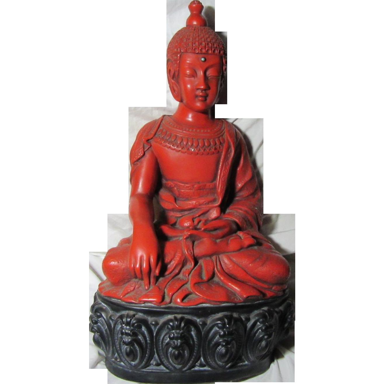 Thai Style Buddha Signed