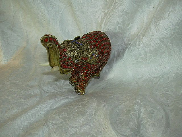 Middle Eastern Elephant Figurine