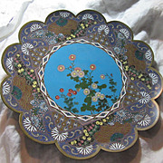 Large Cloisonne Bowl Platter Plate