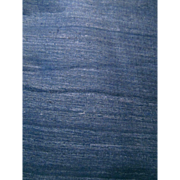 Indigo Blue Dyed Raw Silk Vintage India Fabric 4+ Yards