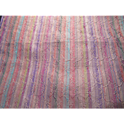 Many Colors Stripes Silk Fabric 2.5 Yards Vintage Fabrics