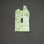 Hartland Plastics Kitchen Madonna Switch Plate