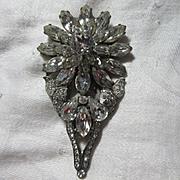 Eisenberg Original Rhinestone Dress Clip