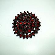 Victorian Garnet Brooch Fine Jewelry
