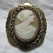 Victorian Cameo Brooch