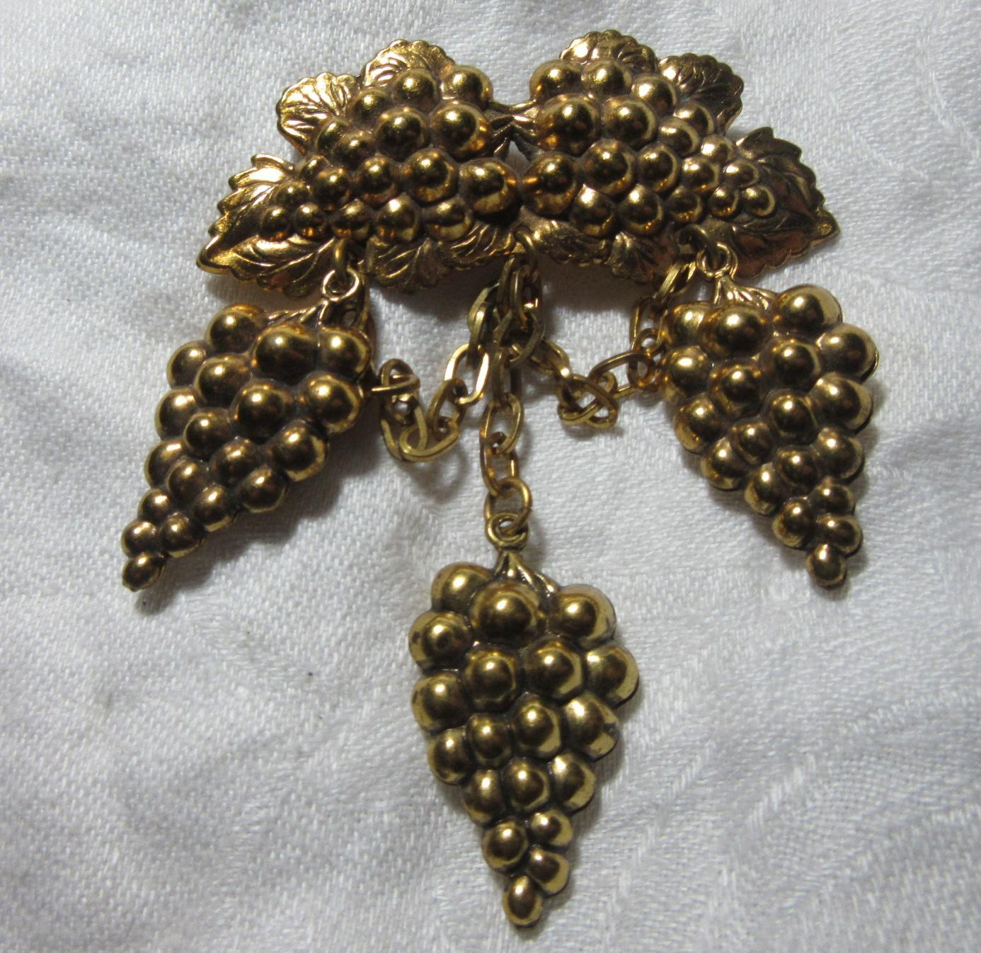 Unusual Grapes Pin