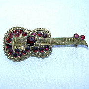 Old Red Guitar Pin
