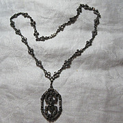 Old Marcasite Necklace
