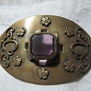 Large Art Deco Brooch