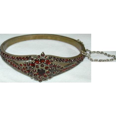 Garnet Fancy Bracelet