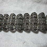 Sterling Silver Germany Filigree Bracelet