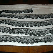 Old Black Lace Wide Edgings