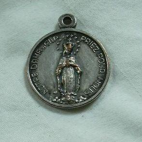 Virgin Mary Notre Dame Du Cap French Medal