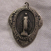Old Unusual Miraculous Medal