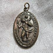 Old St Christopher Medal