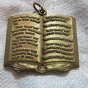 Ten Commandments  Medal