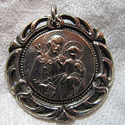 Large Old St Joseph Medal