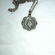 Jesus Infant Of Prague Old Medal