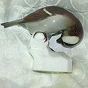 Nymphenburg Neuhauser Porcelain Bird Figurine