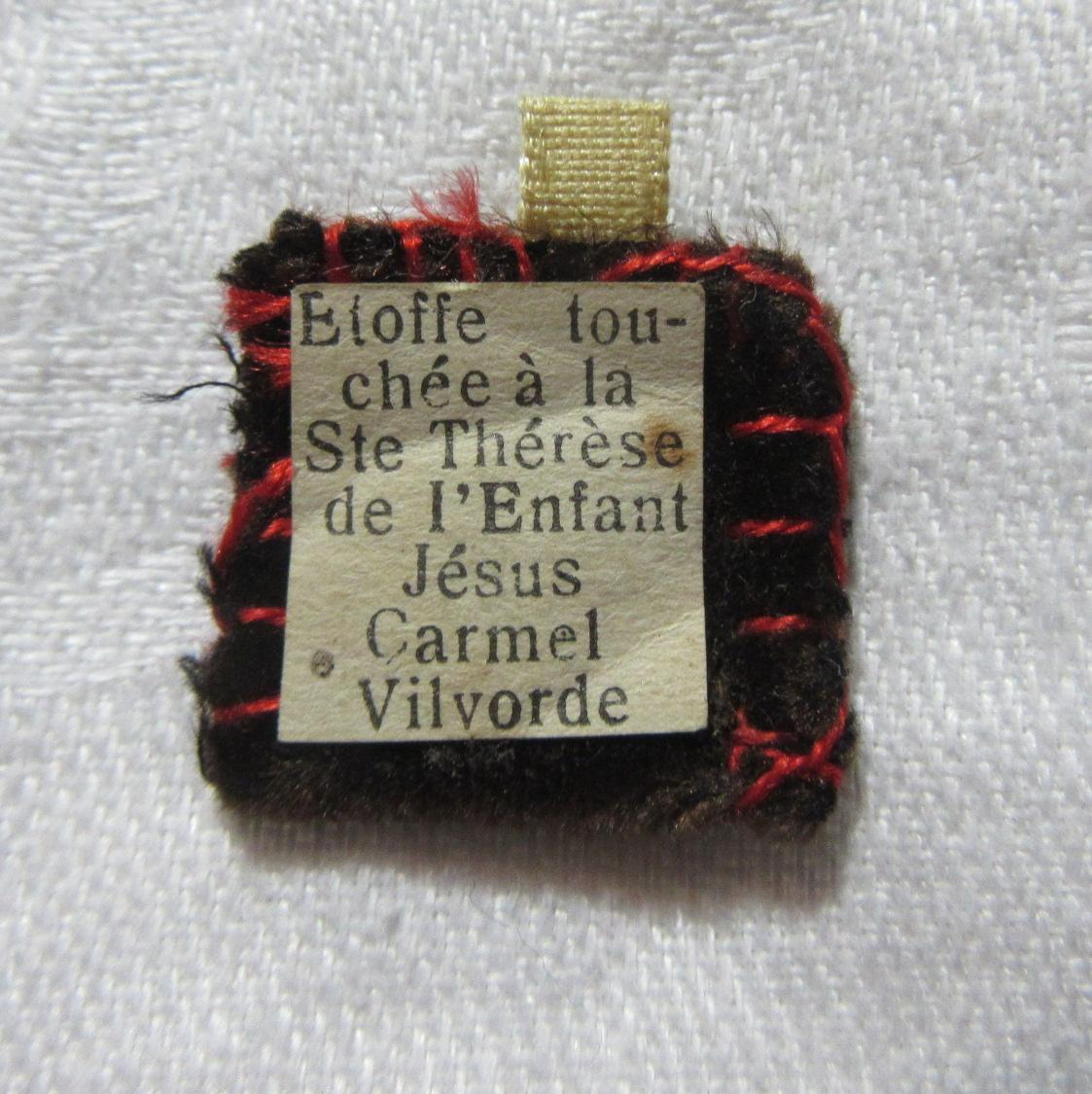 St Therese Lisieux Small Pocket Reliquary