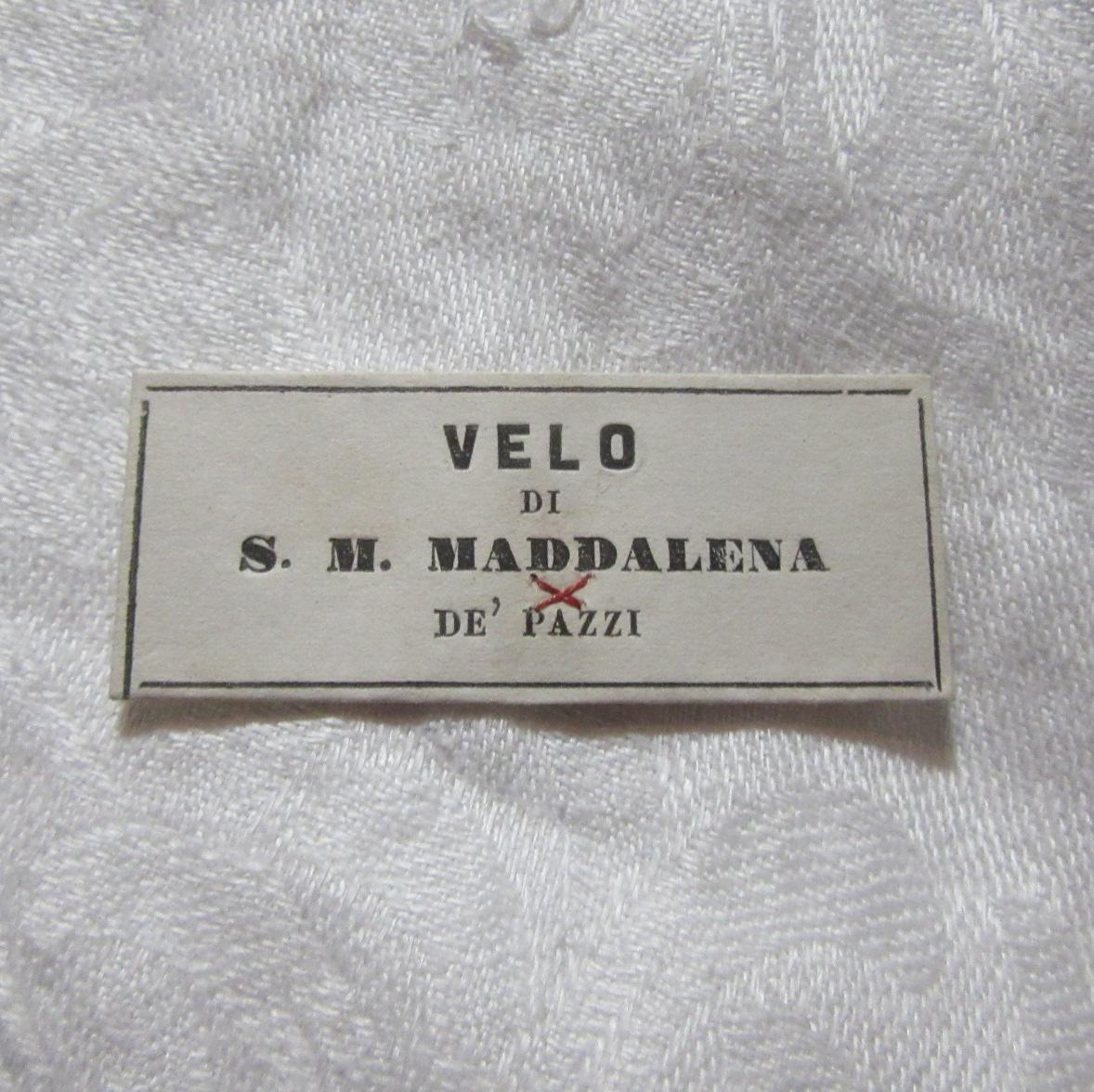 St Mary Magdalen De Pazzi Paper Reliquary