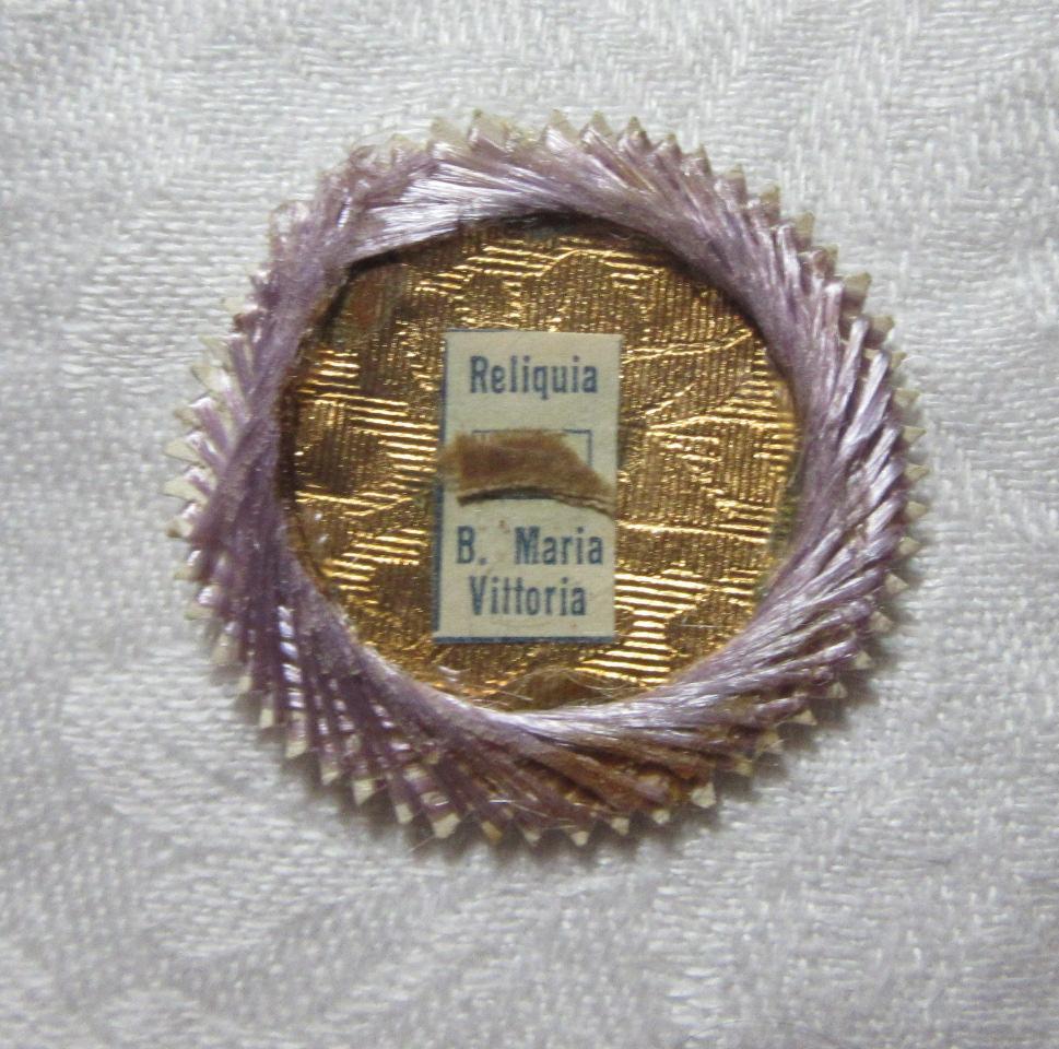 Blessed Maria Vittoria Victoria Fornari Strata Reliquary