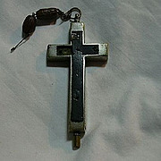 Large Nuns Reliquary Cross St Therese & Anne