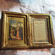 Italian Florentine Marriage Blessing Nativity Art Catholic Christianity Art