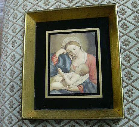 Madonna & Child Virgin Mary & Jesus Print