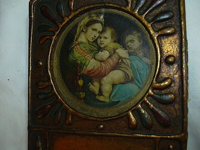 Florentine Madonna Of The Table Religious Art Miniature