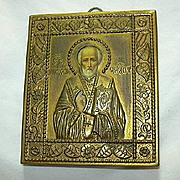 Orthodox Icon St Nicholas of Myra