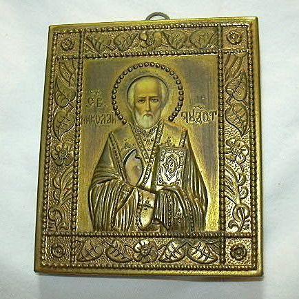 Orthodox Icon St Nicholas of Myra