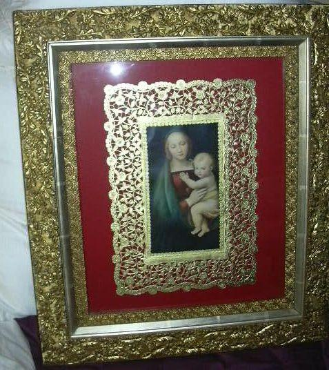 Framed Madonna & Child Art  Madonna Del Granduca After Raffael