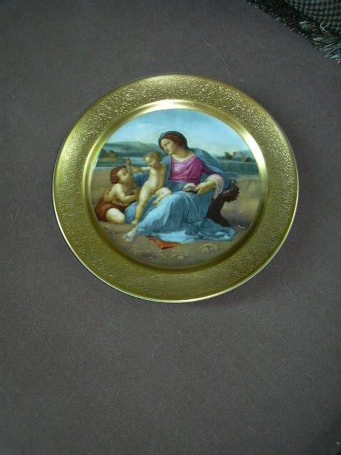 Pickard Raphael The Alba Madonna Numbered  Christmas Plate 1976