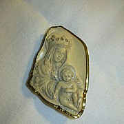 Virgin Mary Infant Small Framed Icon
