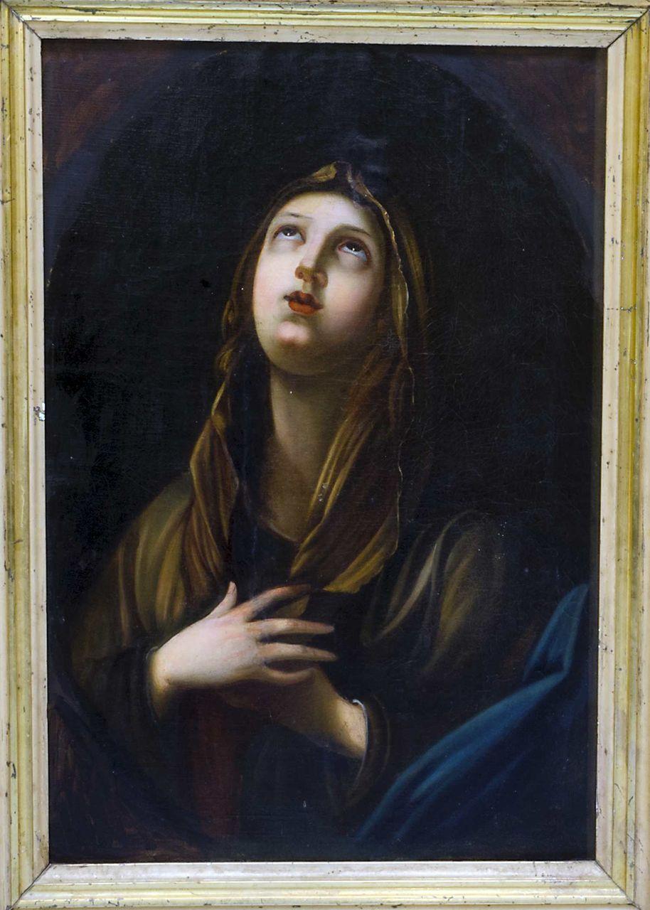 19th C Original Painting  Mary Magdalene Religious Fine Art