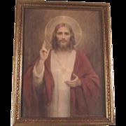 Jesus Print C Bosseron Chambers