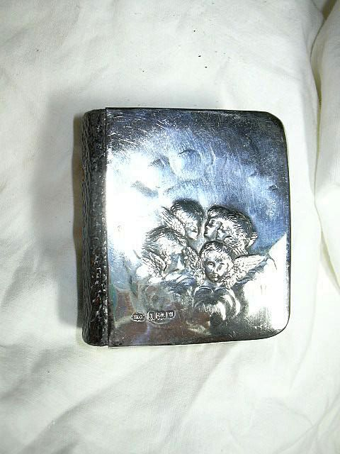 True Miniature Hymns Hymnal  Prayer Book  Sterling Silver Reynolds Angels