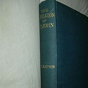 The Revelation Of St. John 1918 Apocalypse Theory Biblican Commentary