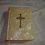 My Bridal Book 1956 Prayer Book Pearlized Cover