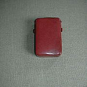 Antique Book Of Common Prayer & Hymns Oxford Press In Leather Case