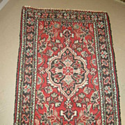 Persian Oriental Rug Karadja Or Hamadan  Carpet