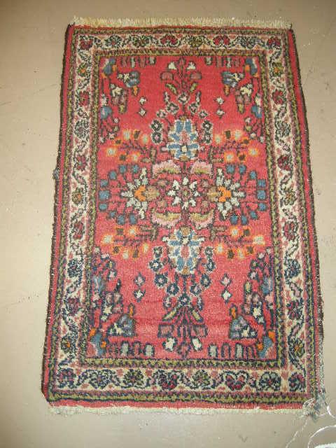 Persian Oriental Rug  Hamadan Vintage Carpet