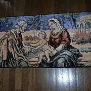 Holy Family Tapestry Prayer Rug Wall Hanging Religious Art