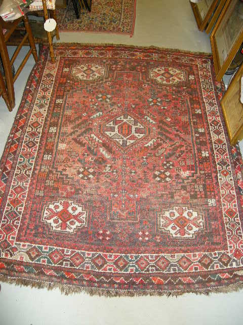 Persian Oriental Rug Vintage Carpet from antiques-jewelry ...