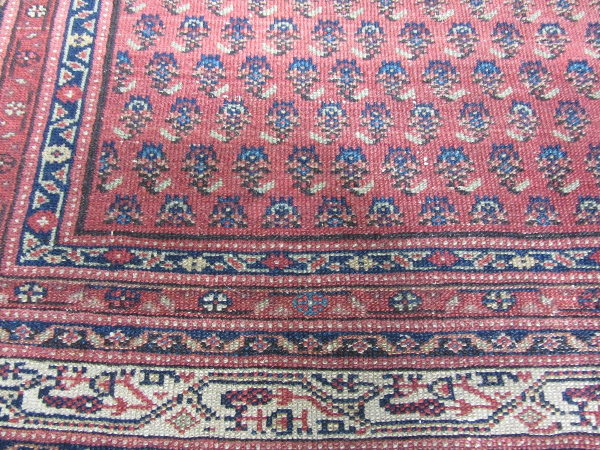 Antique Seraband Malayer Oriental Persian Rug 5'8 by 12 ...