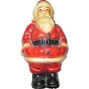 Old Santa Claus Bank Statue Figurine Christmas St Nicholas Figure