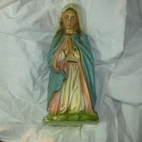 Virgin Mary Madonna Nativity Statue Figurine Large