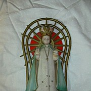 Infant of Prague Jesus Icon Figurine Statue