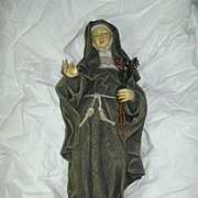 St Theresa of Avila Nun Statue Figurine